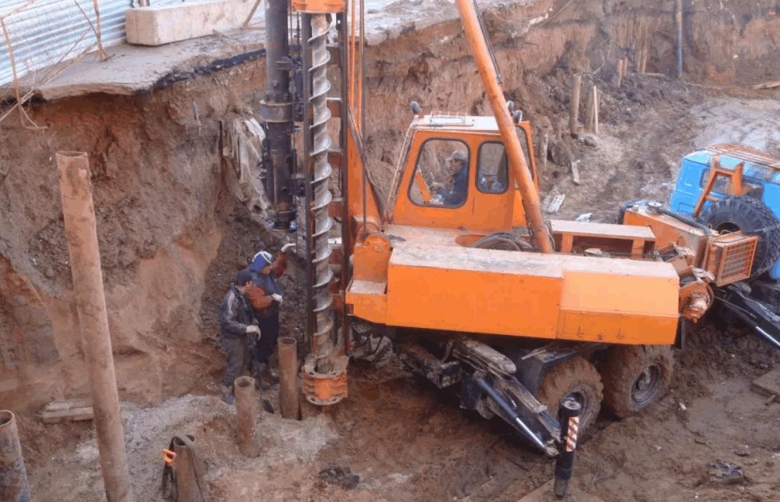 Бурение под сваи диаметр до 800 мм в Нижнем Новгороде и Нижегородской области